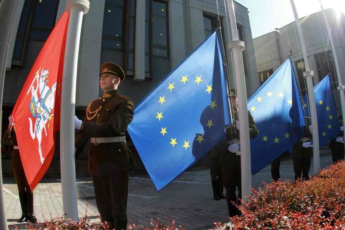 В Вильнюсе начал работу саммит «Восточное партнёрство». Фото: PETRAS MALUKAS/AFP/Getty Images