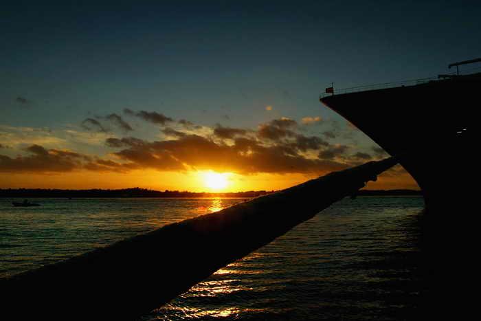 Пассажиры Royal Caribbean снова заразились нововирусом. Фото: Scott Barbour/Getty Images