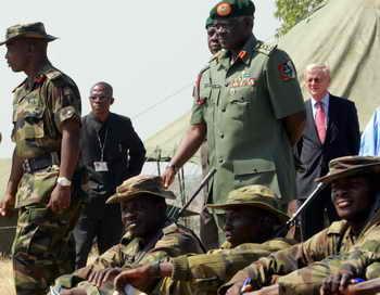 Завод по производству взрывчатых устройств и «поясов смертников» обнаружили сотрудники силовых структур в Нигерии. Фото: ISSOUF SANOGO/AFP/Getty Images