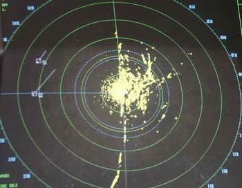 Переносной радар «Голограф», разработанный российскими учёными института ЦНИИ химии и механики, передан в войсковые части спецназ. Фото: GEORGES GOBET/AFP/Getty Images