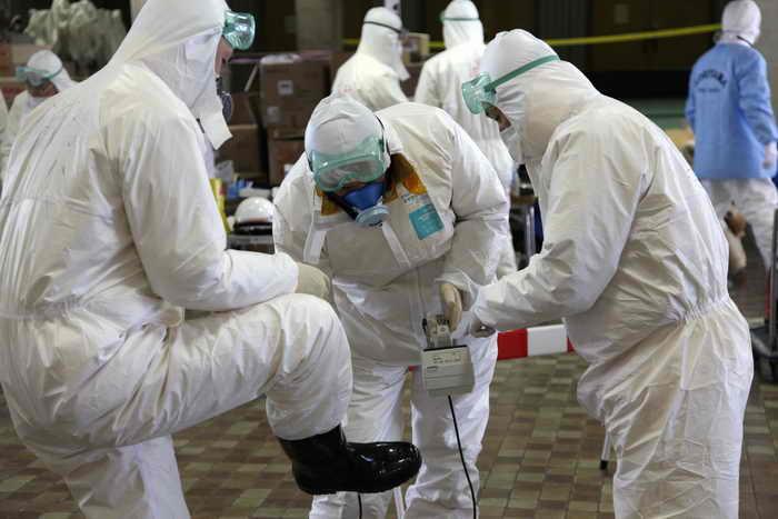 Система очистки воды на «Фукусиме-1» заработала вновь. Данная система очистки способна очищать воду от 62-х видов радиоактивных веществ, кроме трития. Фото: GO TAKAYAMA/AFP/Getty Images