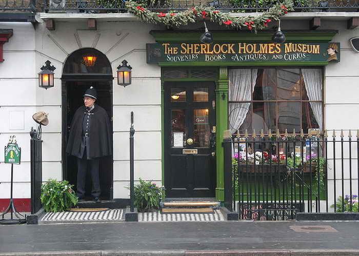 Великобритания. Музей  Шерлока Холмса. Фото: Anders Thirsgaard Rasmussen/flickr.com