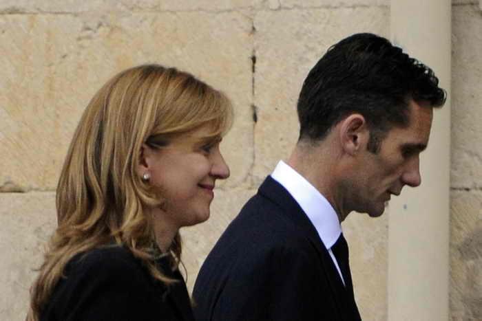 Принцесса Кристина и герцог Иньяки Урдангарин. Фото: RAFA RIVAS/AFP/GettyImages