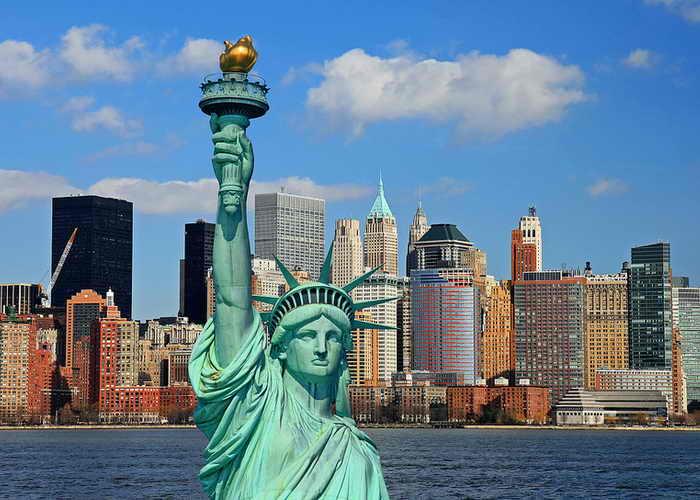 фото нью-йорк манхеттен