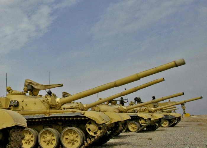 Танк Т-72. Фото: KARIM SAHIB/AFP/Getty Images