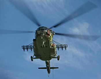 На сегодняшний день вертолёт Ми-8, имеющий два двигателя, является самым востребованным вертолётом в мире. Фото: HENNIE KEERIS/AFP/Getty Images
