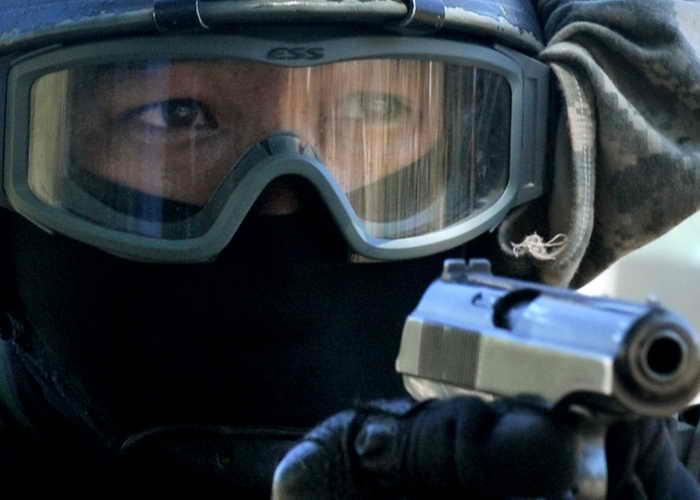 Антитеррористические учения «Бдительное небо-2013» завершились. Учения являются конкретным примером сотрудничества НАТО и России. Фото: VYACHESLAV OSELEDKO/AFP/GettyImages