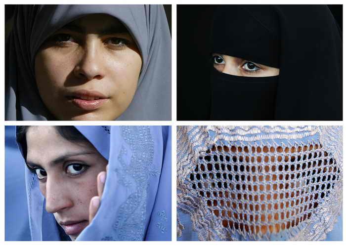 В кантоне Тичино в Швейцарии 22 сентября пройдёт референдум, на котором будет решено, прятать ли мусульманкам лицо. Фото: AFP PHOTO/AFP/Getty Images