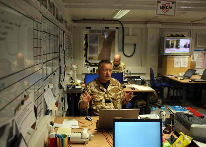 В Великобритании ведётся работа по созданию армейского подразделения киберзащиты. Фото: Marco Di Lauro/Getty Images