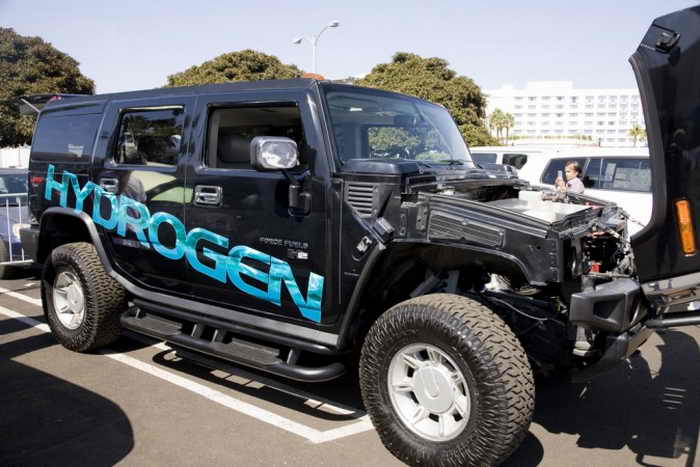 Автомобиль на водородном топливе. Фото: Shutterstock*