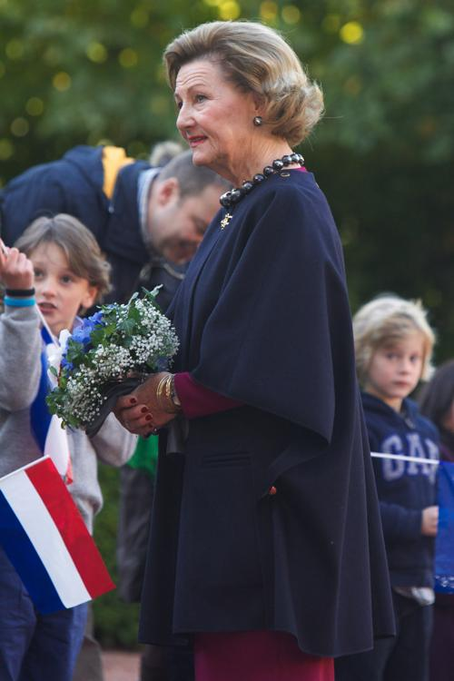Королева Норвегии Соня 2 октября 2013 года в Осло. Фото: Ragnar Singsaas/Getty Images