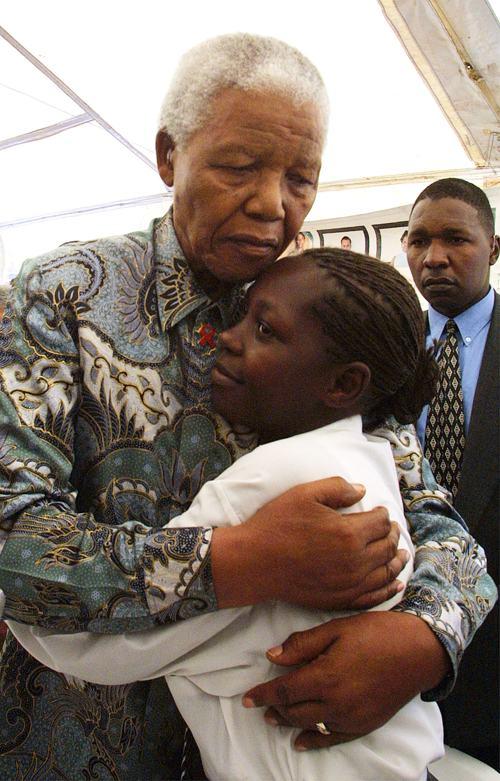 Нельсон Мандела,  12 декабря 2012 года. Фото: ANNA ZIEMINSKI/AFP/Getty Images