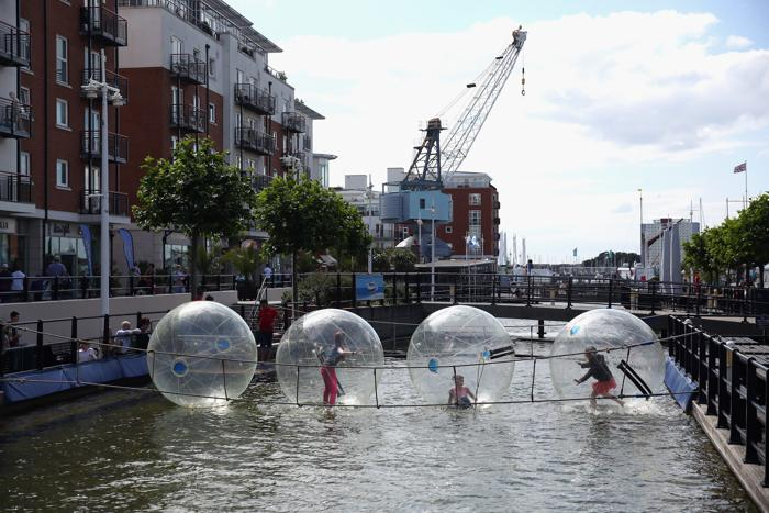 Порт Постмут (Англия) 12 августа 2013 года. Фото: Oli Scarff/Getty Images
