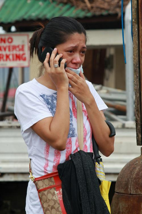 На Филиппинах проходят спасательные работы после супертайфуна «Хайян», который оставил разрушительный след в нескольких провинциях. Фото: Jeoffrey Maitem / Getty Images