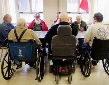 Дом престарелых в США. Фото: Scott Olson/Getty Images