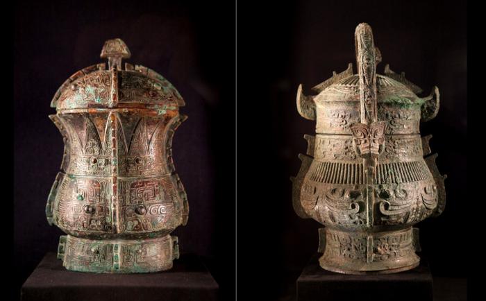 Древняя китайская бронза в галерее Дж. Дж. Лалли, Нью-Йорк, 12 марта, 2014. Фото: Samira Bouaou/Epoch Times