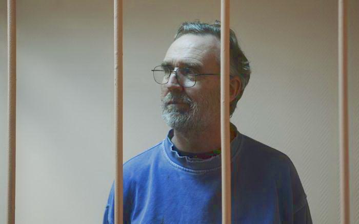 Австралийцу Колину Расселу из группы Гринпис Арктика-30 продлили срок задержания на 3 месяца в ходе судебного заседания в Санкт-Петербурге 18 ноября 2013 года. Фото: OLGA MALTSEVA/AFP/Getty Images