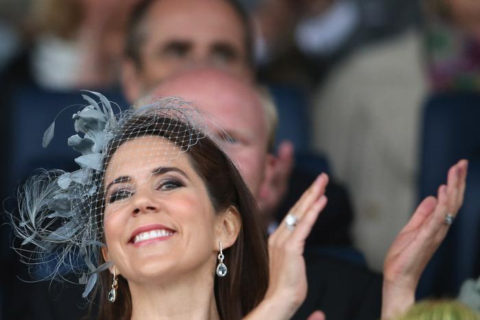 Крон-принцесса Дании Мэри прибыла на церемонию открытия фестиваля Chio  2013. Фото: Christof Koepsel/Bongarts/Getty Images