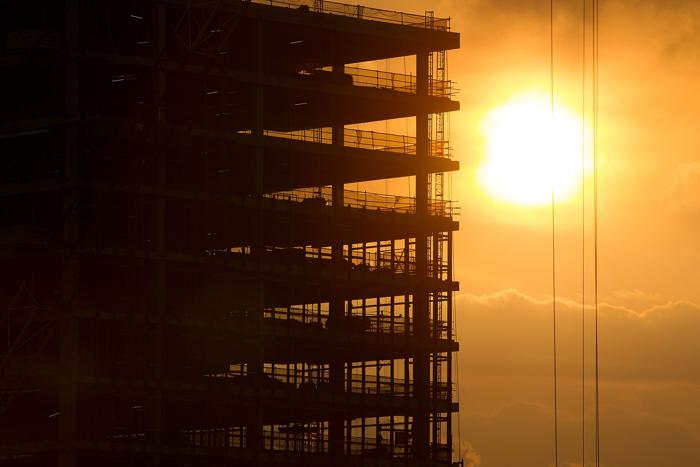 Промышленная зона Сингапура Jurong. Несмотря на недавний спад, строительный бум продолжился в Сингапуре в августе 2013 года. Фото: Nicky Loh/Getty Images