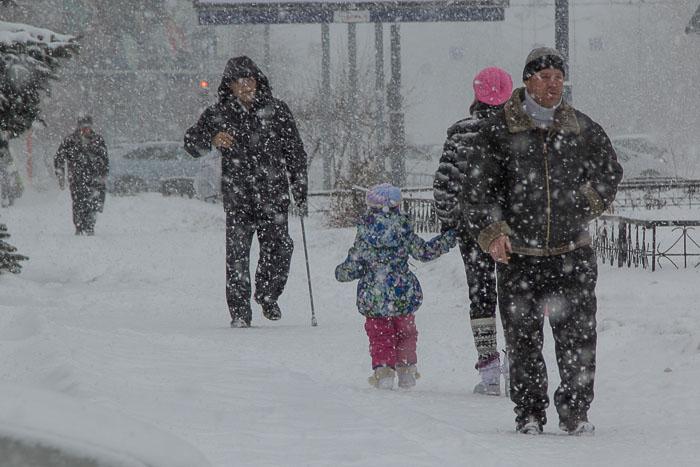 В США из-за снегопада погибли в ДТП 16 человек. Фото: Сергей Тугужеков/Великая Эпоха (The Epoch Times)