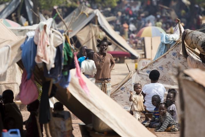 Число беженцев в Центральноафриканской Республике составляет пятую часть жителей. Photo: MIGUEL MEDINA/AFP/Getty Images