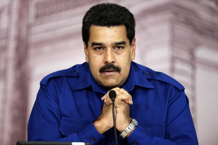 Президент Венесуэлы Николас Мадуро заявил о попытке нападения на его детей. Фото: JUAN BARRETO/AFP/Getty Images