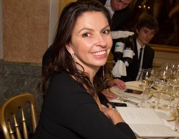 Гендиректор телеканала «Дождь»  Наталья Синдеева в резиденции итальянского посольства в Москве. Фото:  Victor Boyko/DolceGabbana/Getty Images