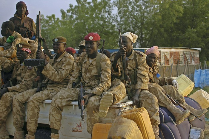 Гражданская война в Южном Судане. Фото: CHARLES LOMODONG/AFP/Getty Images