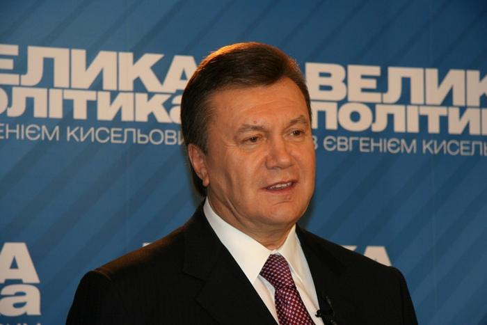 Экс-президент Украины Виктор Янукович. Фото: German Marshall Fund/flickr.com