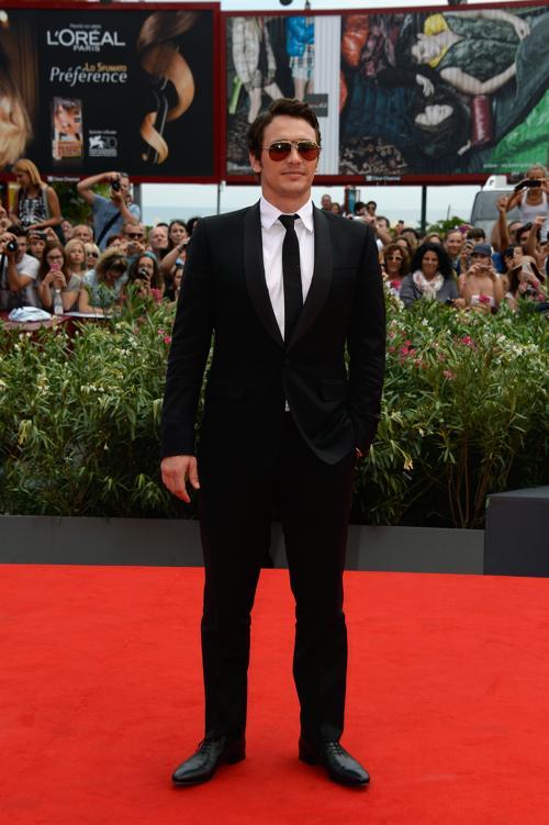 Актёр Джеймс Франко прибыл на юбилейный 70-й Венецианский международный кинофестиваль 1 сентября 2013 года в Венецию, Италия. Фото: Pascal Le Segretain/Getty Images