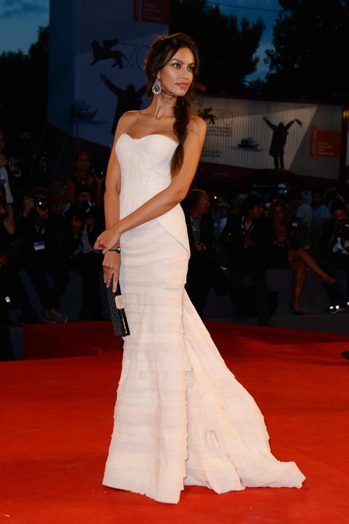Мадалина Генеа прибыла на юбилейный 70-й Венецианский международный кинофестиваль 1 сентября 2013 года в Венецию, Италия. Фото: Pascal Le Segretain/Getty Images