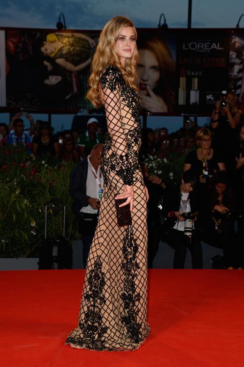 Ванесса Эсслер прибыла на юбилейный 70-й Венецианский международный кинофестиваль 1 сентября 2013 года в Венецию, Италия. Фото: Pascal Le Segretain/Getty Images