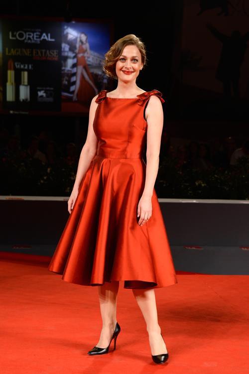 Элени Руссину прибыла на юбилейный 70-й Венецианский международный кинофестиваль 1 сентября 2013 года в Венецию, Италия. Фото: Pascal Le Segretain/Getty Images