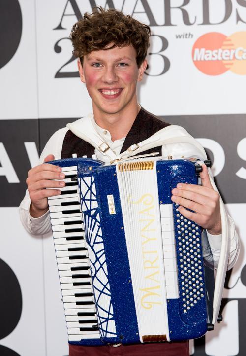 Мартинас принял участие в церемонии вручения музыкальных наград Великобритании в области классической музыки (Classic BRIT Awards 2013) 2 октября 2013 года в Лондоне, Англия. Фото: Ian Gavan/Getty Images
