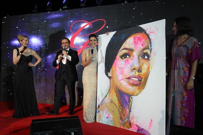 Благотворительный ужин Global Gift Gala 2013, который состоялся в отеле Gran Melia Don Pepe Resort 4 августа 2013 года. Фото: Daniel Perez/Getty Images