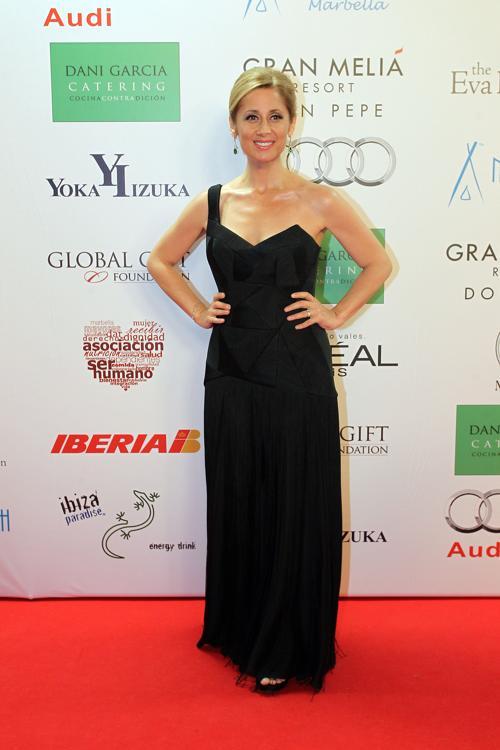 Лара Фабиан на благотворительном ужине Global Gift Gala 2013, который состоялся в отеле Gran Melia Don Pepe Resort 4 августа 2013 года. Фото: Daniel Perez/Getty Images
