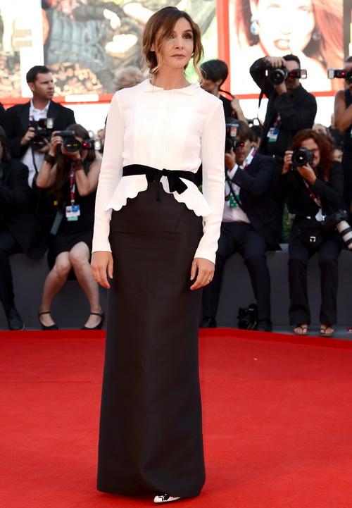 Актриса Клотильда Кюро посетила открытие юбилейного 70-го Международного кинофестиваля в Венеции 28 августа 2013 года на острове Лидо (Италия). Фото: Ian Gavan/Getty Images