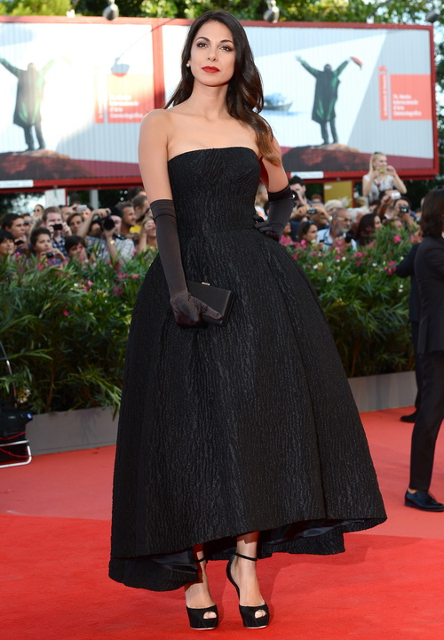 Моран Атиас посетила открытие юбилейного 70-го Международного кинофестиваля в Венеции 28 августа 2013 года на острове Лидо (Италия). Фото: Ian Gavan/Getty Images