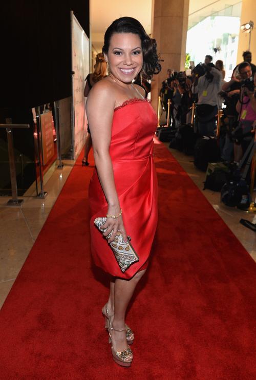 Актриса Глория Гарайуа на 28-й церемонии вручения ежегодной премии «Образ» (28th Annual Imagen Awards) 16 августа 2013 года в Беверли Хиллз, Калифорния (США). Фото: Alberto E. Rodriguez/Getty Images