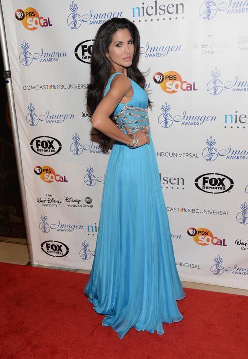 Джойс Жиро на 28-й церемонии вручения ежегодной премии «Образ» (28th Annual Imagen Awards) 16 августа 2013 года в Беверли Хиллз, Калифорния (США). Фото: Jason Kempin /Getty Images