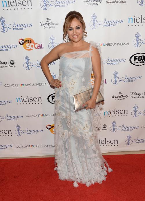 Элизабет Эспиноса на 28-й церемонии вручения ежегодной премии «Образ» (28th Annual Imagen Awards) 16 августа 2013 года в Беверли Хиллз, Калифорния (США). Фото: Jason Kempin /Getty Images