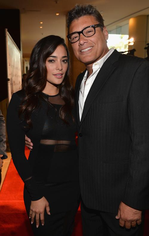 Актёры Натали Мартинес и Стивен Бауэр на 28-й церемонии вручения ежегодной премии «Образ» (28th Annual Imagen Awards) 16 августа 2013 года в Беверли Хиллз, Калифорния (США). Фото: Alberto E. Rodriguez/Getty Images