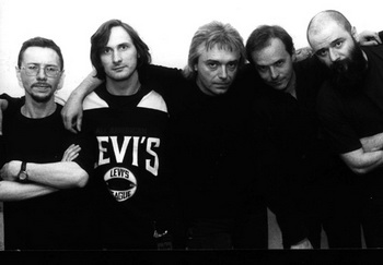 Группа «Алиса» в 1999 году. Фото: фотограф Аліси/Commons.wikimedia.org