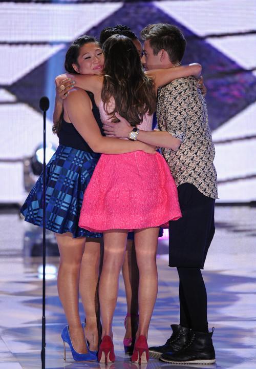 В Амфитеатре Гибсона состоялась церемония награждения премией «Выбор подростков-2013» (Teen Choice Awards 2013) и музыкальное представление в «Юниверсал Сити», Калифорния, 11 августа 2013 года. Фото: Kevin Winter/Getty Images