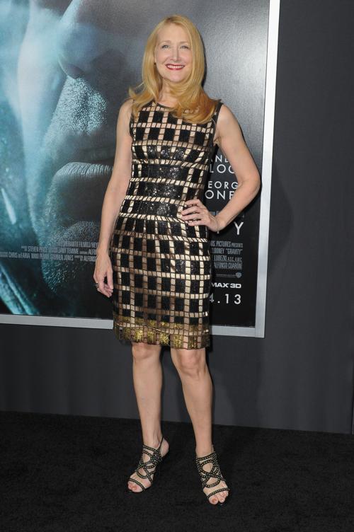 Патриция Кларксон прибыла на премьеру фильма «Гравитация», состоявшуюся 1 октября 2013 года в Нью-Йорке, США. Фото: Michael Loccisano/Getty Images