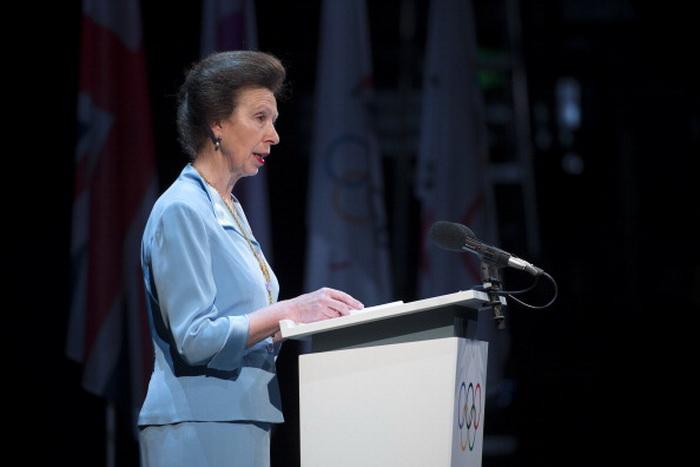 Член Международного олимпийского комитета, глава британской олимпийской ассоциации, принцесса Анна. Фото: FABRICE COFFRINI/AFP/GettyImages