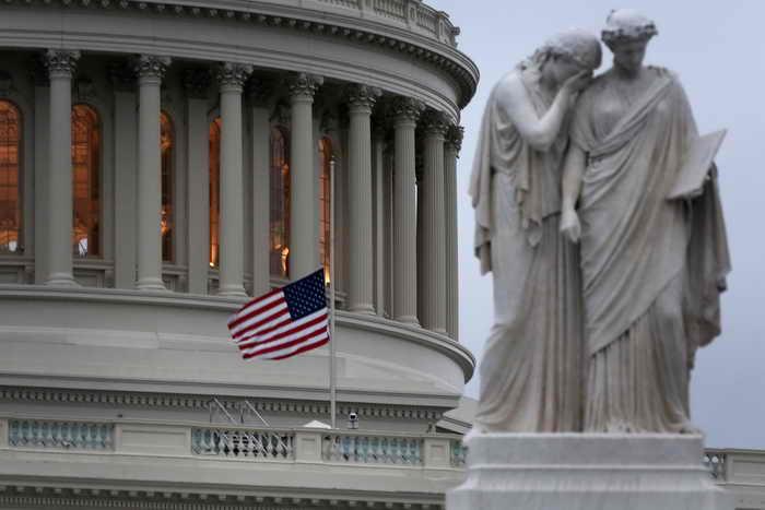 Двадцати украинским чиновникам запрещён въезд в США. Фото: Alex Wong/Getty Images