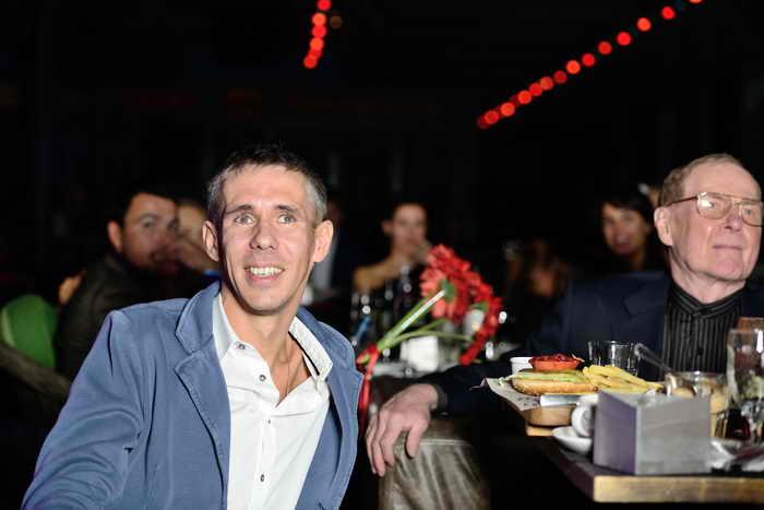 Презентация видеоклипа на песню Андрея Ковалёва «Дорожная»  В клубе Jagger Hall. Фото представлено пресс-службой Андрея Ковалёва