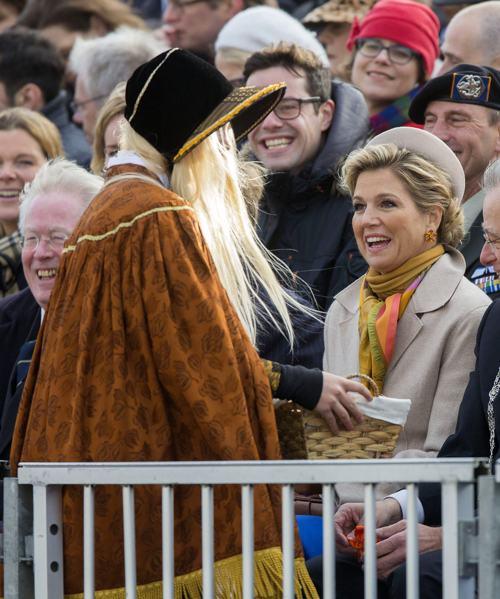 Королева Максима посетили 30 ноября в Гааге торжества по случаю празднования 200-летия Королевства Нидерландов. Фото: Michel Porro/Getty Images