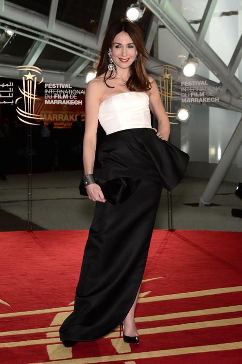 Актриса Эльза Зильберштейн прибыла на 13-й международный кинофестиваль 1 декабря в Марракеше (Марокко). Фото: Dominique Charriau/Getty Images